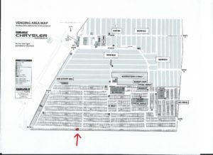 Carlisle Vendor Map